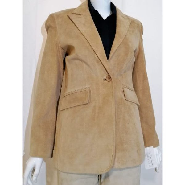 Casaco/Blazer em pele 35€